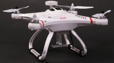Подробный обзор возможностей квадрокоптера  CX 20 c GPS, как собрать