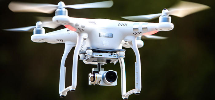 DJI Phantom 3 Advanced полет