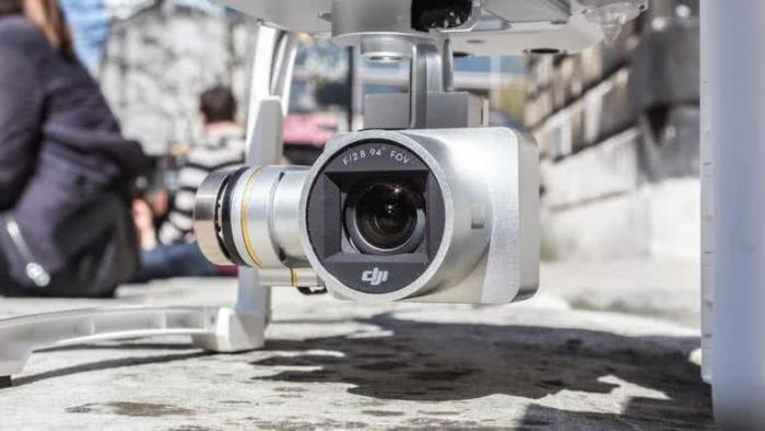 DJI Phantom 3 Advanced камера