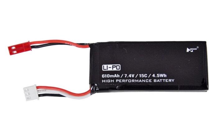 Hubsan H502S батарея