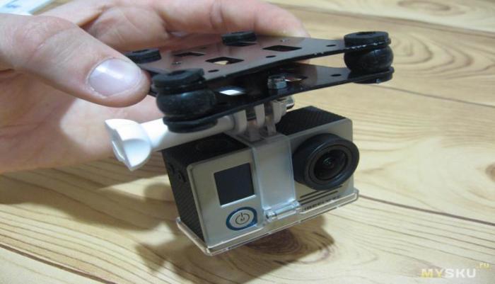 квадрокоптера CX 20 камера