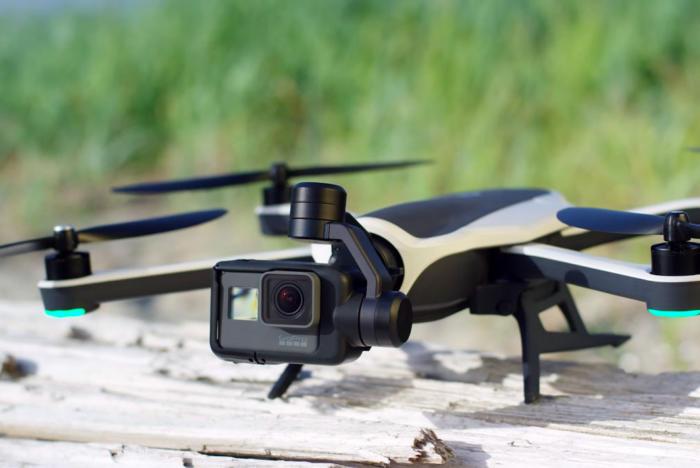 ТОП-7. GoPro Karma — радиус квадрокоптера до 1 000 метров