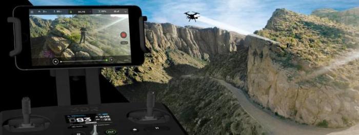 Квадрокоптер Solo 3DR selfi