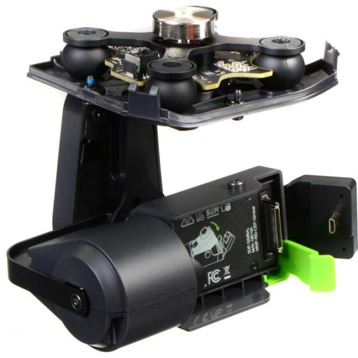 Квадрокоптер Solo 3DR подвес