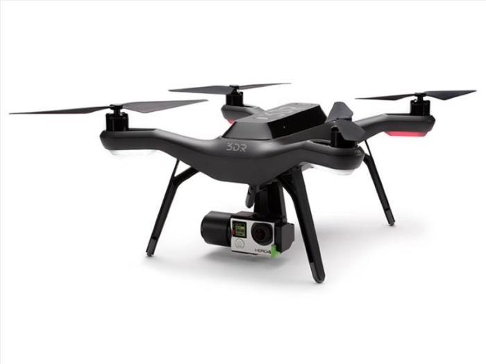 Квадрокоптер Solo 3DR вид с камерой