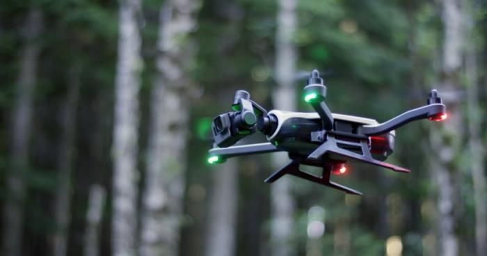Квадрокоптер Karma Drone GoPro