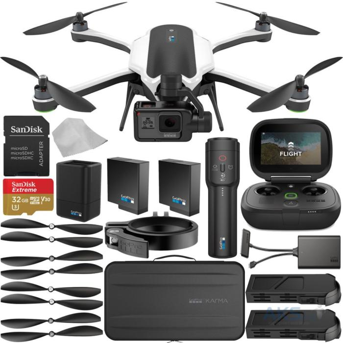 Квадрокоптер Karma Drone GoPro комплектация