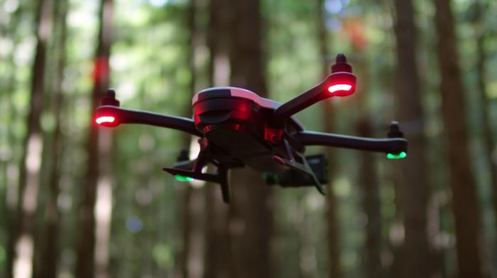Квадрокоптер Karma Drone GoPro режимы