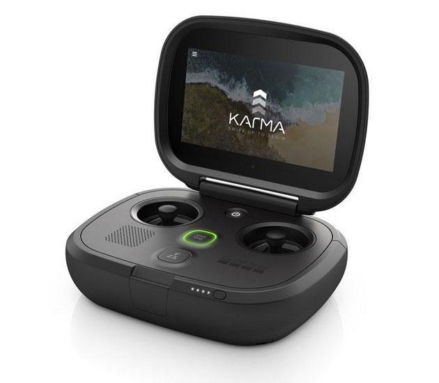 Квадрокоптер Karma Drone GoPro пульт