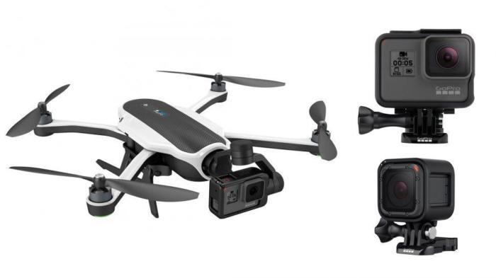 Квадрокоптер Karma Drone GoPro камера