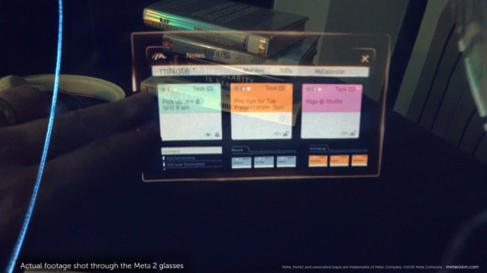 Meta 2 development kit