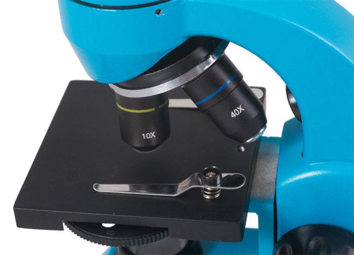 Оптика голубого Микроскоп Levenhuk