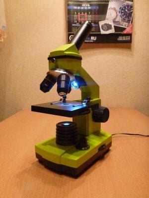 Обзор микроскопа LEVENHUK 2L для домашнего использования